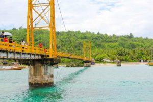 Suspension Bridge Nusa Lembongan
