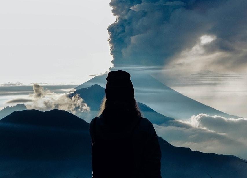 Mount Agung in Kintamani