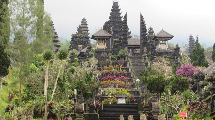 Besakih tempel Bali