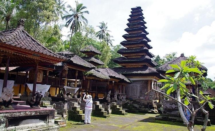 Kehen temple op Bali
