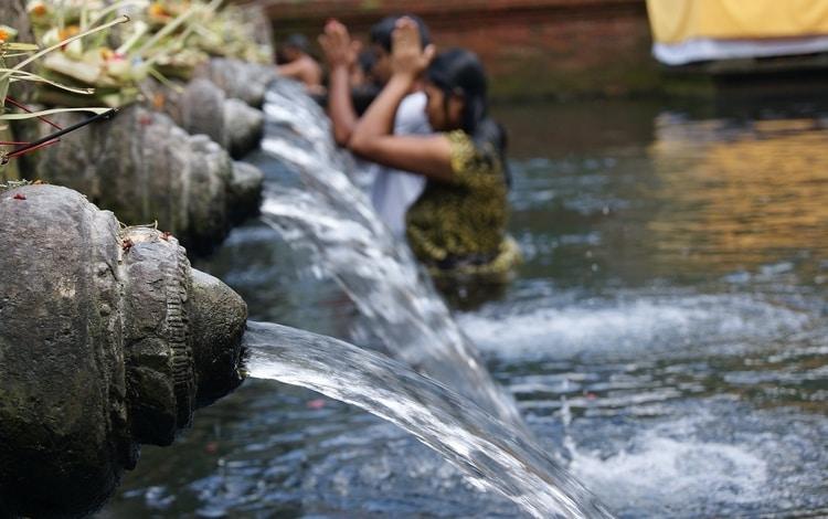 Heilige tempel Tirta Empul Bali