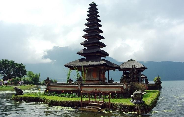 Ulun Danu Bratan tempel Bali